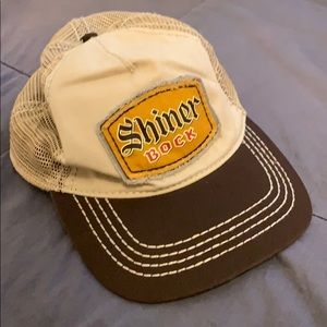 Shiner Bock trucker hat